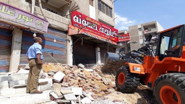 تنفيذ 560 قرارإزالةفي القاهرة خلال حملات موسعة