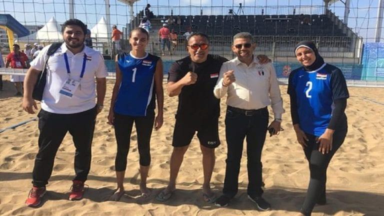 مصر تفوز بذهبية الكرة الطائرة الشاطئية للسيدات في الألعاب الإفريقية