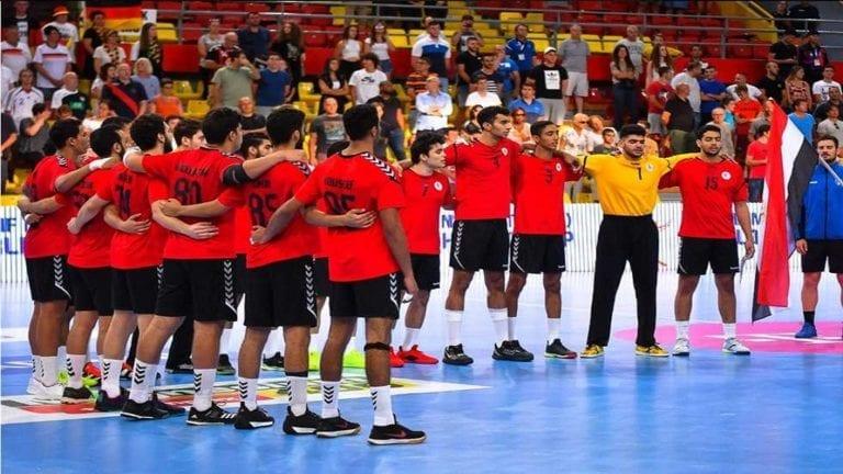 مصر تحصل على كأس العالم للناشئين في كرة اليد