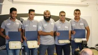 فريق جامعة المنوفية يفوز بالمركز الأول في مسابقة للروبوكون بأمريكا
