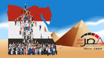 ارتفاع عدد سكان مصر 200 ألف نسمة (إنفوجراف)