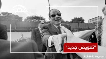 """الرئيس السيسي بعد عودته إلى القاهرة: """"لو طلبت تفويض هينزل الملايين"""""""