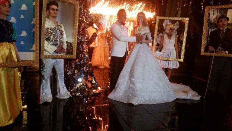 حفل زفاف هنا الزاهد وأحمد فهمي يتصدر البحث على جوجل (صور)