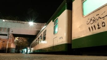 أسطول السكك الحديدية