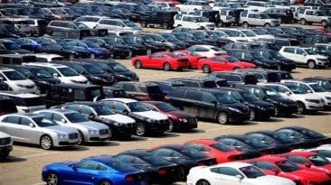 تراجع معدل واردات السيارات