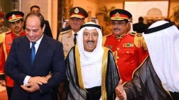زيارة السيسي للكويت