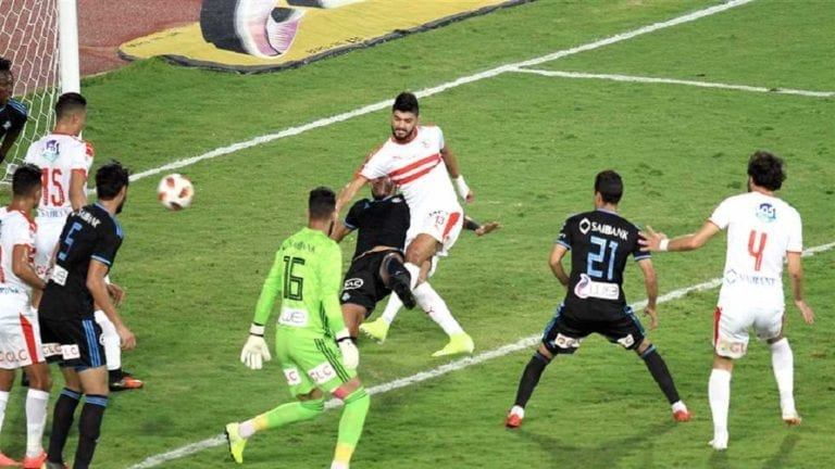 الزمالك بطل كأس مصر بعد ثلاثية نظيفة في شباك بيراميدز مصر في يوم