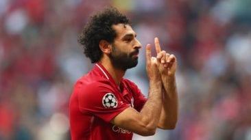 محمد صلاح لاعب الشهر في نادي ليفربول