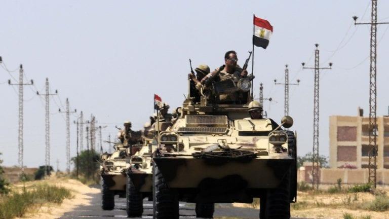 القوات المسلحة تقضي على إرهابيين