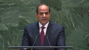 السيسي في الأمم المتحدة: على المجتمع الدولي حل أزمة سد النهضة
