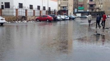 سقوط أمطار رعدية في مصر