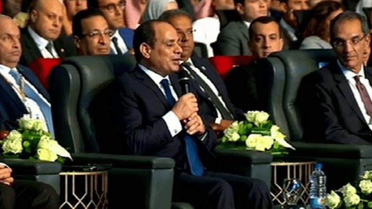 السيسي في افتتاح المؤتمر الدولي للاتصالات