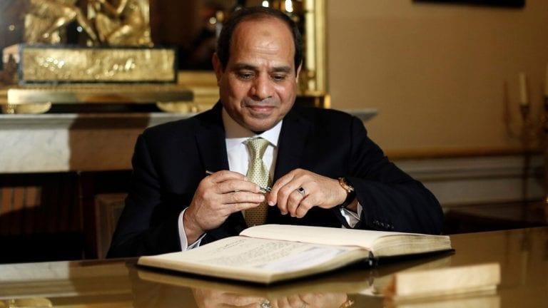 السيسي يوافق على منحة لمصر