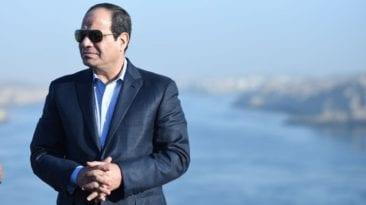 السيسي يعلن أن مصر دخلت مرحلة الفقر المائي