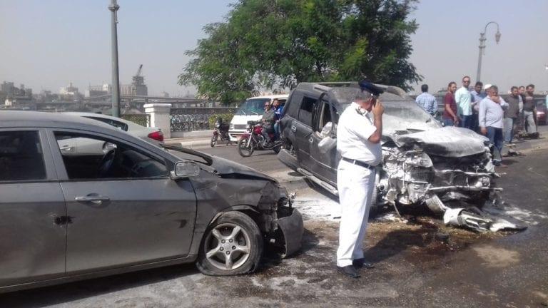 مصرع 14 شخصا وإصابة 17 آخرين في حوادث بالمحافظات