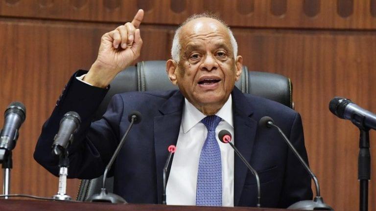 علي عبدالعال يؤكد عدم وجود معتقل سياسي