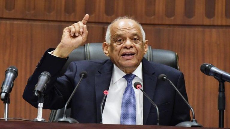 عبدالعال يحذر النواب من الشيكات دون رصيد