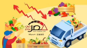 ارتفاع أسعار الخضراوات والنقل وانخفاض الفاكهة (إنفوجراف)