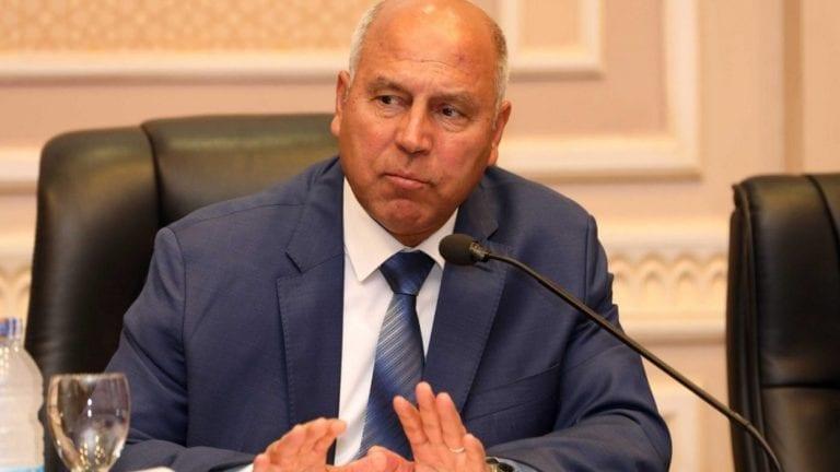 كامل الوزير يتحدث إلى نواب البرلمان