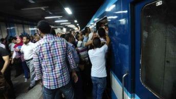 تعطل مترو الأنفاق بالخط الأول