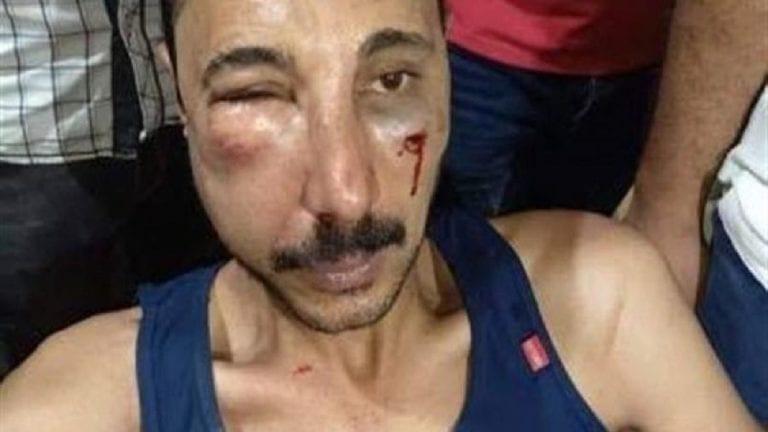 حبس الضابط المعتدي على محامي المحلة