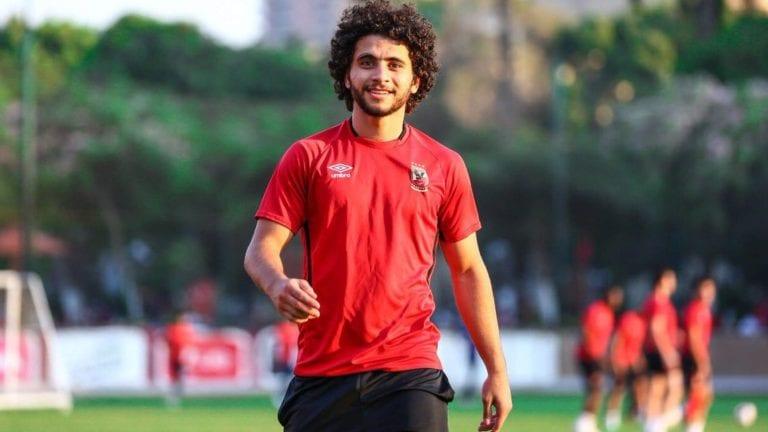 تفاصيل إصابة محمد محمود: الأهلي يعلن دعمه للاعب