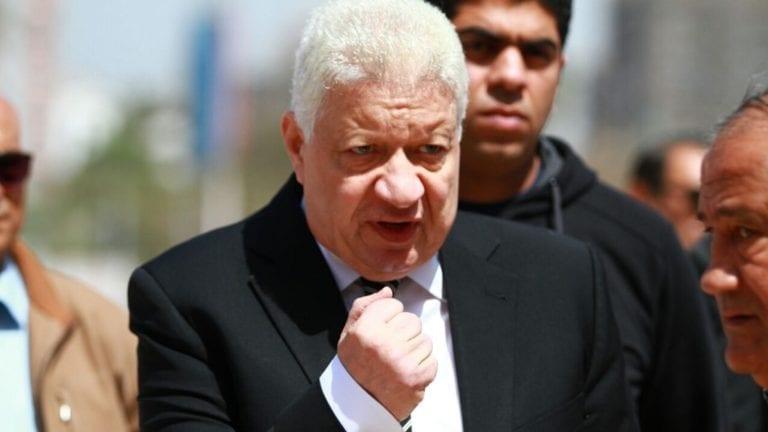 مرتضى منصور يعلن انتهاء أزمته مع الخطيب