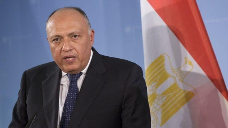 """سامح شكري أمام البرلمان العربي: """"لا تهاون في حق مصر المائي"""""""