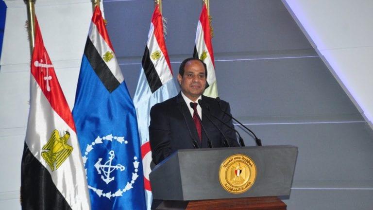 السيسي عن أزمة سد النهضة: البلد كشفت ضهرها وعرت كتفها