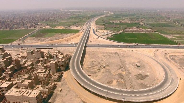 """وزير النقل: سقوط جزء من """"الدائري الإقليمي"""" بسبب السيول رغم تأمينه"""