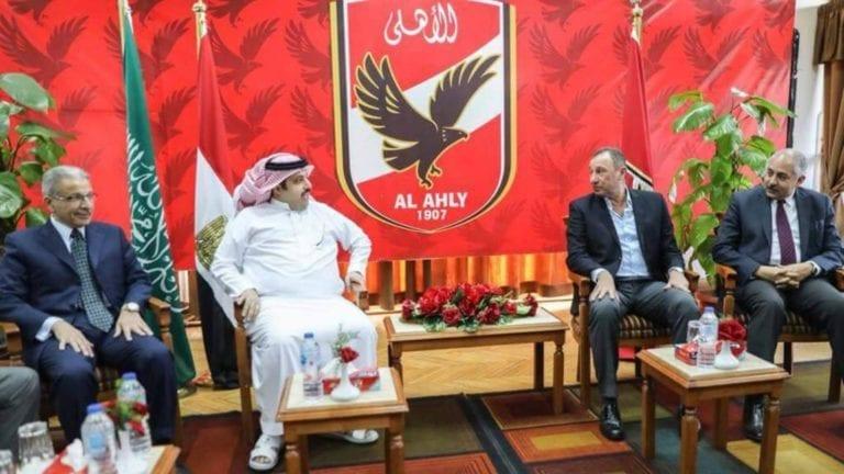 تركي آل الشيخ يتحدث عن النادي الأهلي