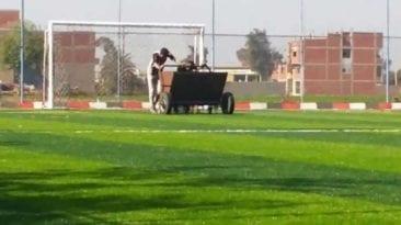 الإنتاج الحربي تنفذ مشروعات لصالح الشباب والرياضة: نجيل ودراجات