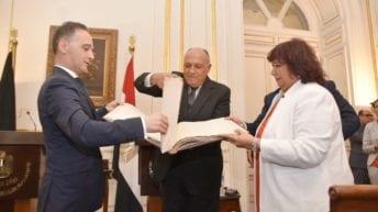 مصر تستعيد أطلس سديد الأثري من ألمانيا (فيديو وصور)
