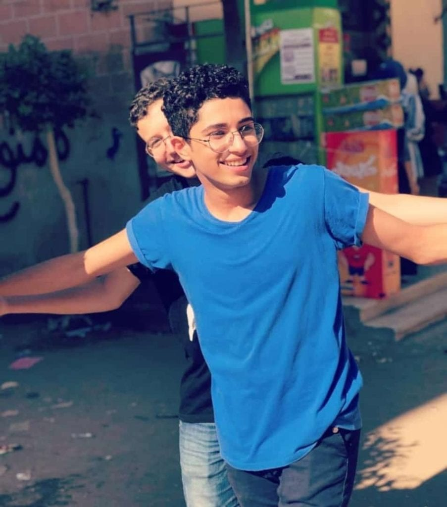 الطالب محمود البنا