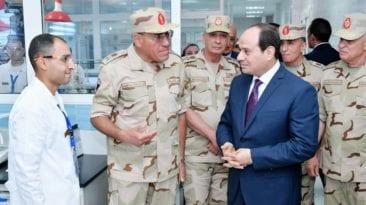 السيسي: مشاركة القوات المسلحة في البورصة مهم للمصريين