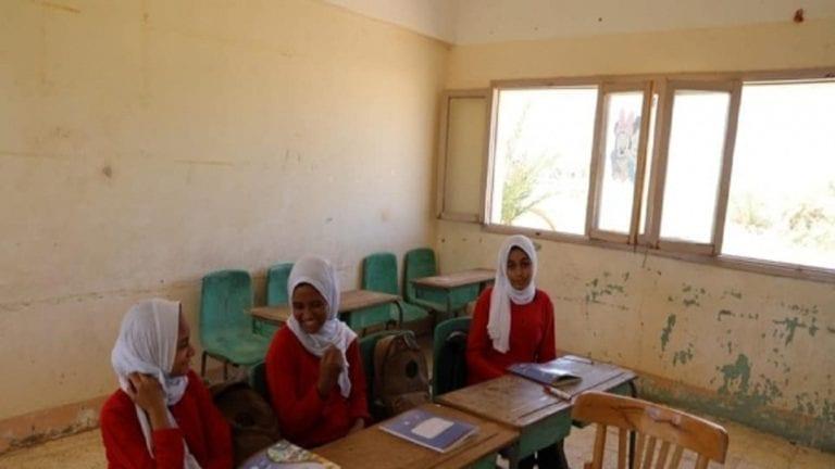 إغلاق مدرسة بالوادي الجديد لعدم وجود طالبات