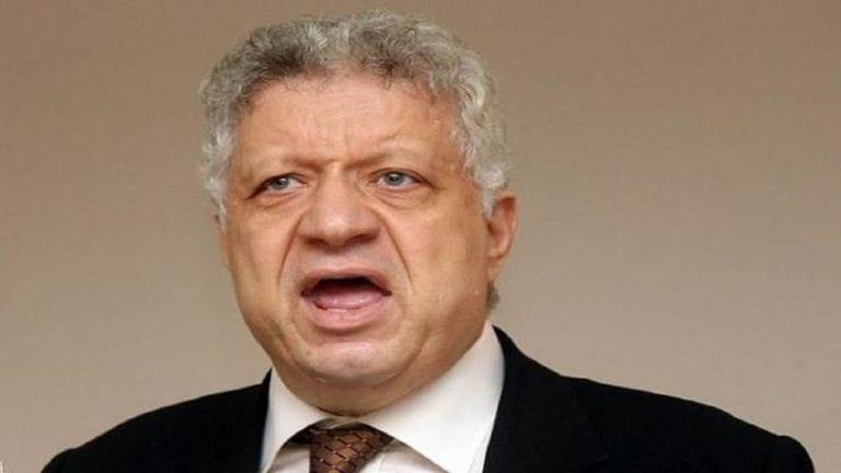 مرتضى منصور يهاجم محمود الخطيب
