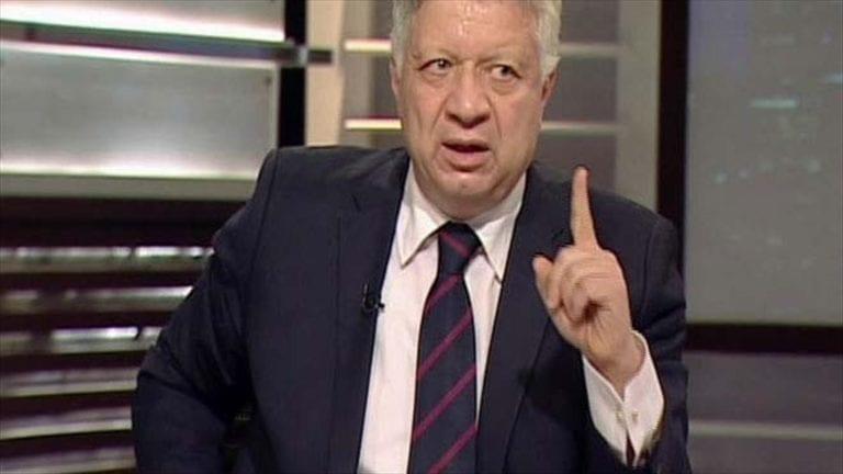 مرتضى منصور يحذر الأهلي من التعاقد مع كهربا