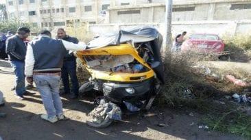 مصرع 17 شخصا وإصابة 8 آخرين: حوادث تصادم وغرق وانتحار