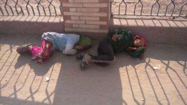 أطفال بلا مأوى