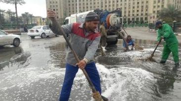 أمطار غزيرة في مصر