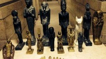 السفارة الفرنسية: إعادة 12 قطعة أثرية لمصر خلال العام الماضي