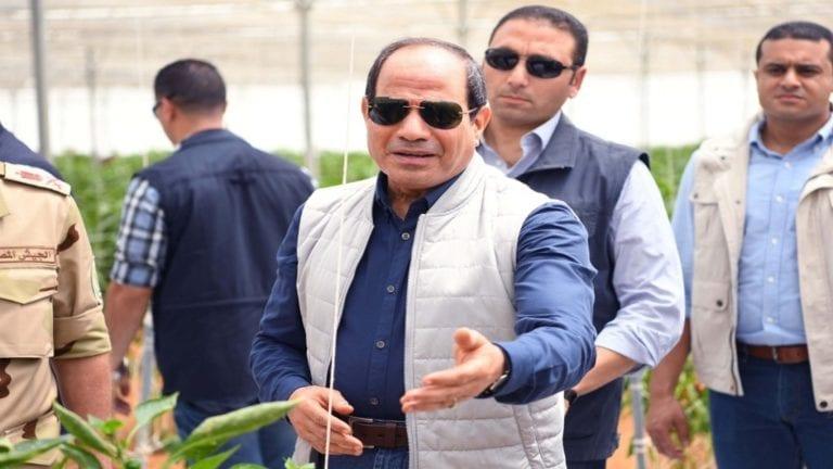 السيسي يشهد افتتاح مشروعات في بور سعيد