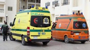 حادث تصادم أتوبيسين بالدقهلية