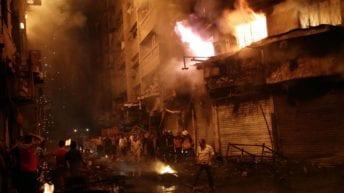 حرائق بسوهاج والشرقية والإسكندرية: مصرع شخصين ودمار 8 منازل