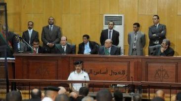 """قضية """"ميكروباص حلوان"""": الإعدام لـ7 متهمين والمشدد لـ18 آخرين"""