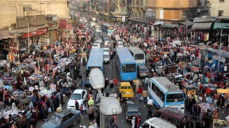 زيادة عدد سكان مصر