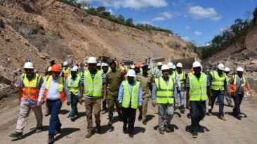 وفد مصري يزور مشروع سد نهر روفيجي بتنزانيا
