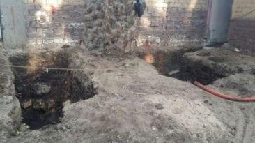 مصرع أمين شرطة أثناء التنقيب عن الآثار في حي الزيتون