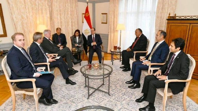 السيسي يلتقي وزير الداخلية الألماني: التعاون ضد الإرهاب